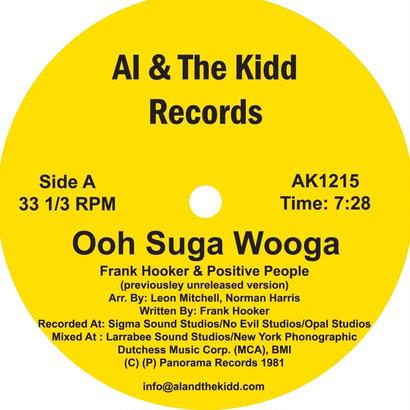 "[AK 1215] Frank Hooker & Positive People - Ooh Suga Wooga / This Feeling  (12"" Vinyl)"