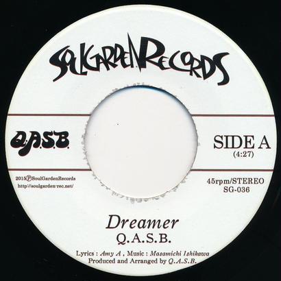 "[SG-036] Q.A.S.B. - Dreamer / Movin' On (7"" Vinyl)"