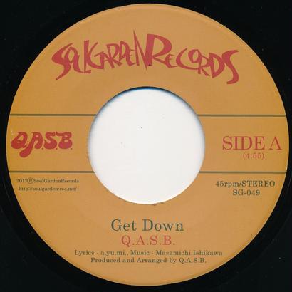 """[SG-049] Q.A.S.B. - Get Down / Double Decker (7"""" Vinyl)"""
