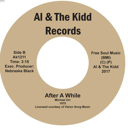 "{AK 1211]  Michael Orr - Wonder Woman (Super Lady) / Afterwhile  (7"" Vinyl)"