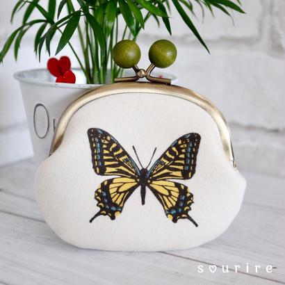 蝶のコインケース