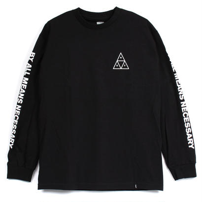 TRIPLE TRIANGLE L/S TEE BLACK