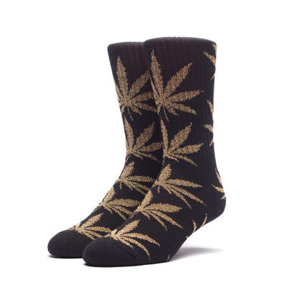 HUF TINSEL PLANTLIFE SOCK BLACK/GOLD