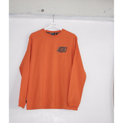SHADOW L/S TEE (ORANGE)