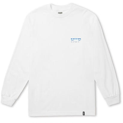 ICE ROSE CLASSIC H L/S TEE WHITE (L)