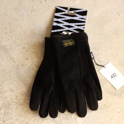 430 SF SLK SUEDE GLOVE(Color :  BLK)