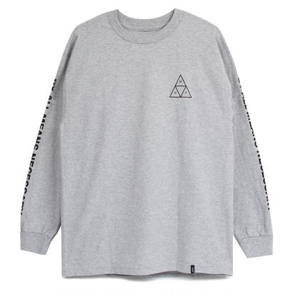 TRIPLE TRIANGLE L/S TEE GREY HEATHER