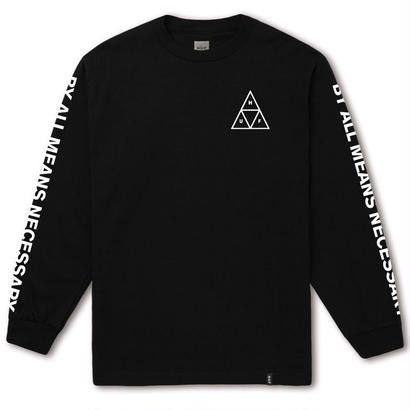 ESSENTIALS TT L/S TEE BLACK (L)