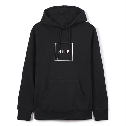 BOX LOGO PULLOVER FLEECE BLACK