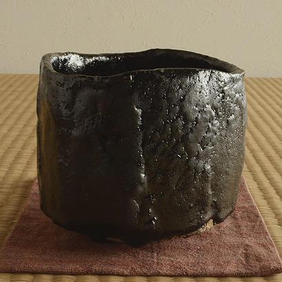 瀬戸黒茶盌 / 堀一郎