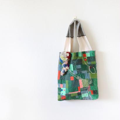 ちくちく2‐faced bag「G×G」