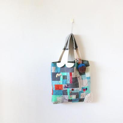 ちくちく2‐faced bag「mixG」編集する