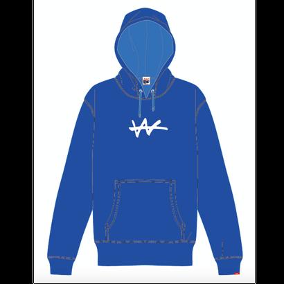 VaVa Logo刺繍パーカー (BLUE)※受注販売商品  発送期間 11/28以降順次