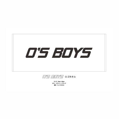 O'S BOYS Logo Face Towel
