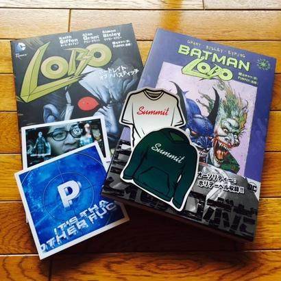 PUNPEE翻訳監修書籍:「LOBO」& 「BATMAN LOBO」2巻セット(特典ステッカー付)