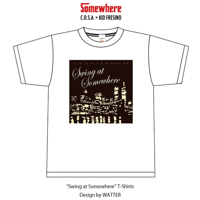 """Swing at Somewhere"" T-Shirts"