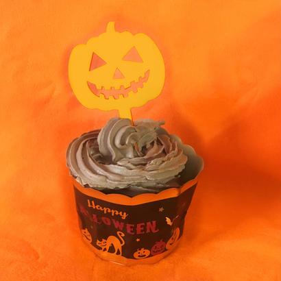 Halloweenケーキトッパー【カボチャ】