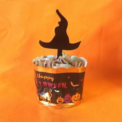 Halloweenケーキトッパー 【魔女のぼうし】