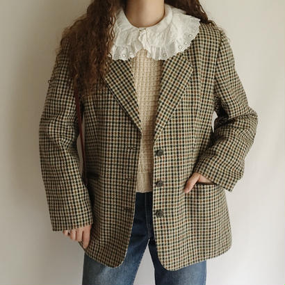 Euro Vintage Gun Club Check  Jacket