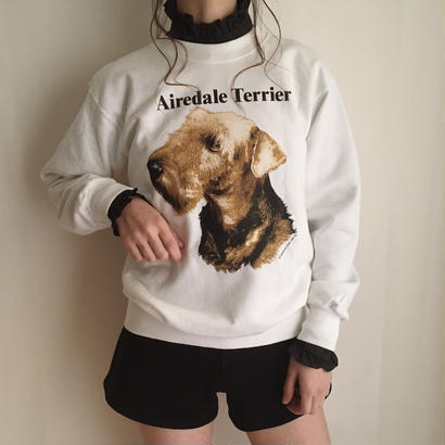 90's deadstock DOGGIE sweat shirt