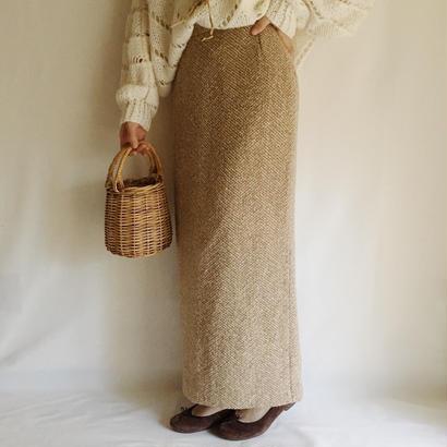 eurovintage tight long skirt