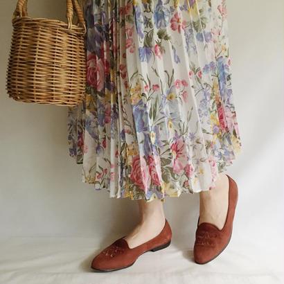 USA Dead Stock All Over Flower Print Gaze Dress