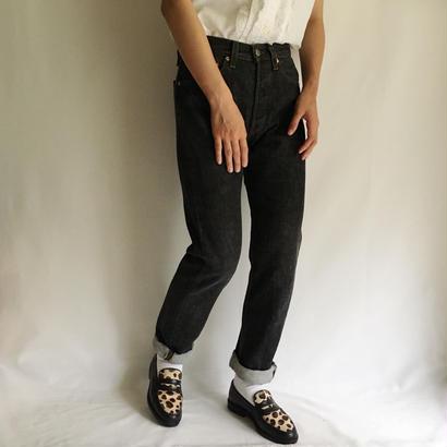 USA Levi's 501 Black Denim Pants