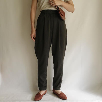 Euro Vintage One Tack Tapered Pants