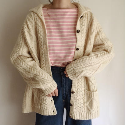 Irish cable knit cardigan