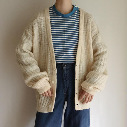 USA ivory knit cardigan