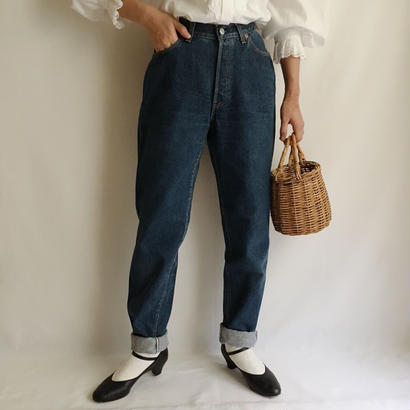 USA 80's Levi's 501 High Waist Demim Pants