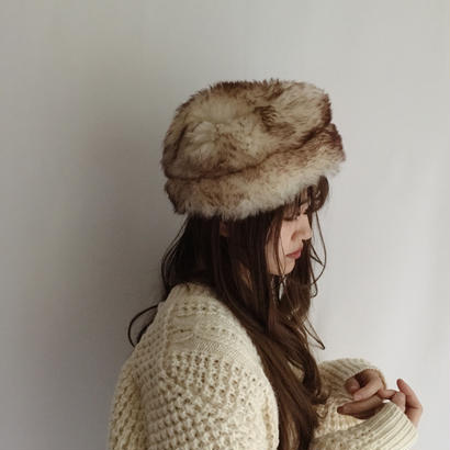 Italy mouton fur hat
