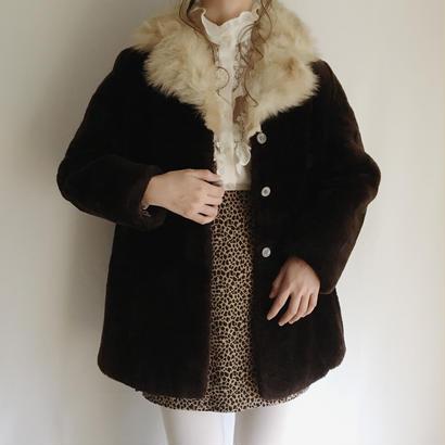 eurovintage  Aline fur coat