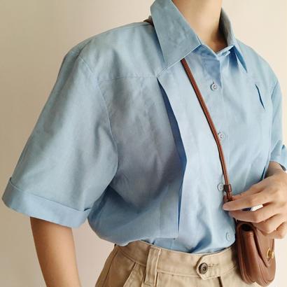 Euro Vintage Flat Collar Box Shirt