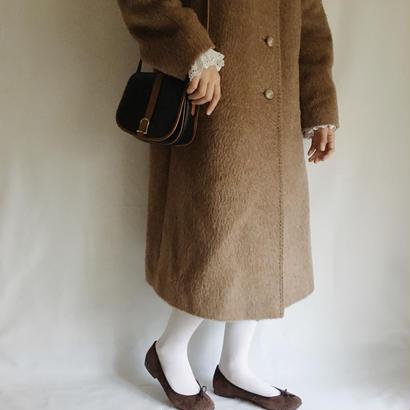 70's-80's euro vintage alpaka lin coat
