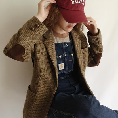 Euro Vintage 60's - 70's Gun Club Check Tweed Jacket