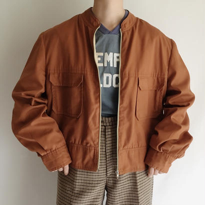 Euro Vintage Terracotta Work Jacket