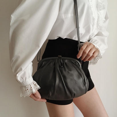 Euro  Vintage leather shoulder bag