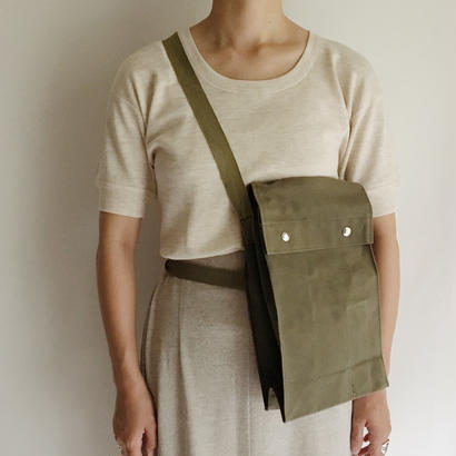 Euro Vintage Dead Stock Military Shoulder Bag