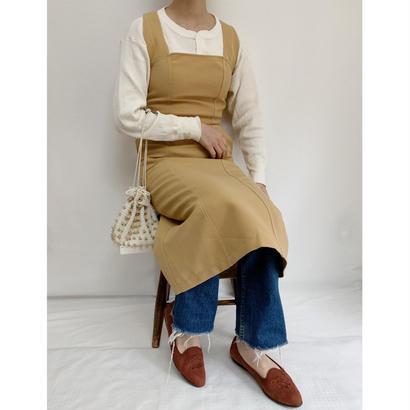 Euro Vintage Back Cross Tight Drest