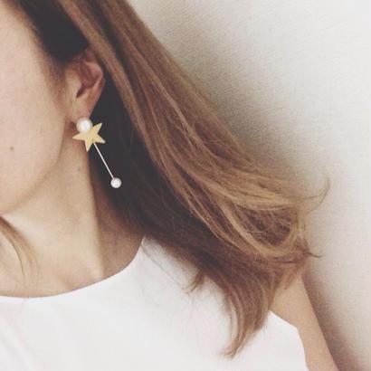 Twinkle Twinkle Star earrings(イヤリング、ピアス) / ハンドメイドアクセサリー