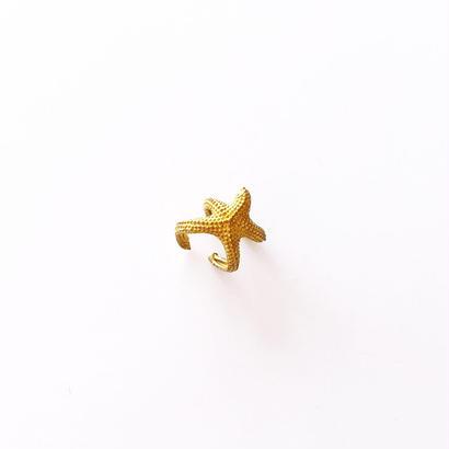 ゴールドスターフィッシュリング