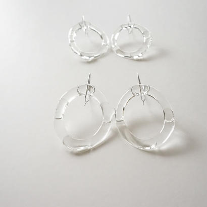 Water droplets ピアス(片耳用)