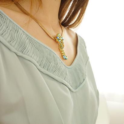 vintage  custom bijou necklace
