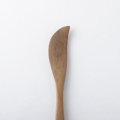 木のバターナイフ(ブラウン)