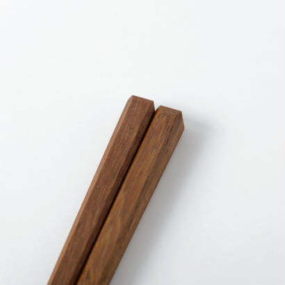 箸 四方面(鉄木)