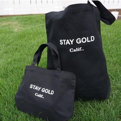 STAY GOLD_California トートバック
