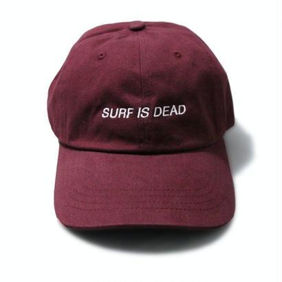 SURF IS DEAD ASLEEP HAT <Burgundy> サーフイズデッド