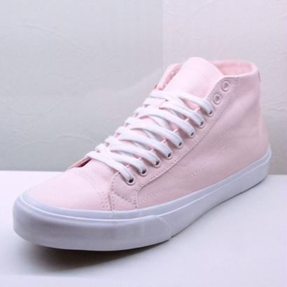 "Vans Court Mid Canvas ""Light Pink""  バンズ コートミッド キャンバス"
