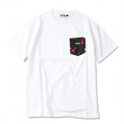 STONED PATTERN POCKET TEE  <Made In Paradise>